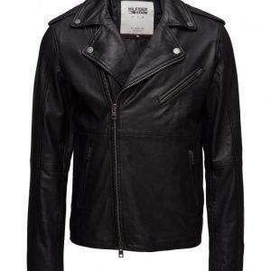 Hilfiger Denim Thdm Leather Biker 52 nahkatakki