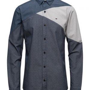 Hilfiger Denim Thdm Reg Colorblock Shirt L/S 19