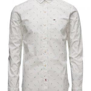 Hilfiger Denim Thdm Sl Printed Shirt L/S 18
