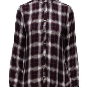 Hilfiger Denim Thdw Basic Check Shirt L/S 28 pitkähihainen paita