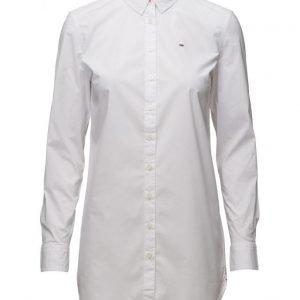 Hilfiger Denim Thdw Basic Stretch Cotton Shirt L/S pitkähihainen paita