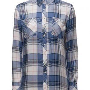 Hilfiger Denim Thdw Check Shirt L/S 14 pitkähihainen paita