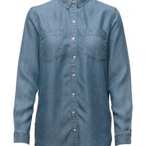 Hilfiger Denim Thdw Denim Boyfriend Shirt L/S 26 pitkähihainen paita