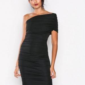 Honor Gold Alice Midi Dress Kotelomekko Black