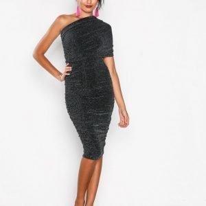 Honor Gold Alicia Shimmer Midi Dress Kotelomekko Black