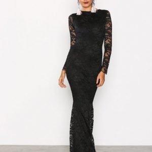Honor Gold Faye Maxi Dress Maksimekko Black