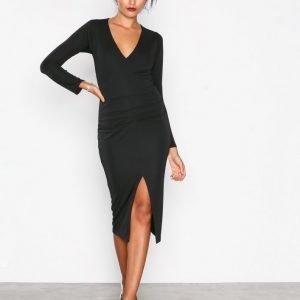 Honor Gold Jessica Midi Dress Kotelomekko Black