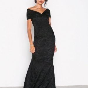 Honor Gold Mila Lace Maxi Dress Maksimekko Black