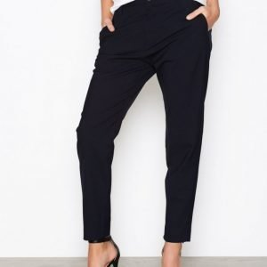 Hope Krissy Trousers Housut Dark Blue