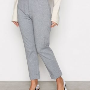 Hope Law Trouser Housut Grey Melange