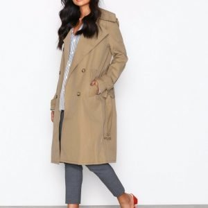 Hope Oak Coat Trenssitakki Beige
