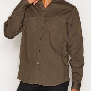 Hope Rick Shirt Kauluspaita Khaki