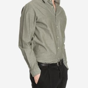 Hope Roy Pocket Shirt Kauluspaita Khaki Green