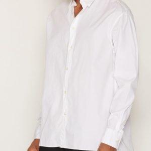Hope Wi Shirt Kauluspaita White