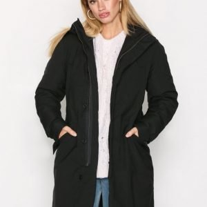 Hope Wom Parka Parkatakki Black