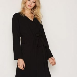 Hope Wrap Dress Loose Fit Mekko Black