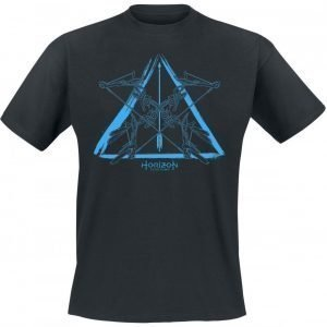 Horizon: Zero Dawn Blue Logo T-paita