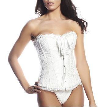 Hot Anatomy Bridal Corset White