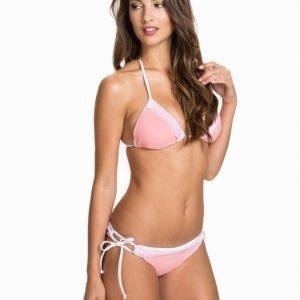 Hot Anatomy Lace No.3 Triangle Top Navy/Vit