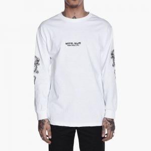 Hotel Blue Dragon Long Sleeve Tee