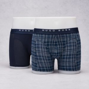 Hugo Boss 2-p Boxer 477 Open Blue