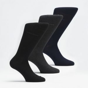 Hugo Boss 3-pack Socks 962 Black/Grey/Navy