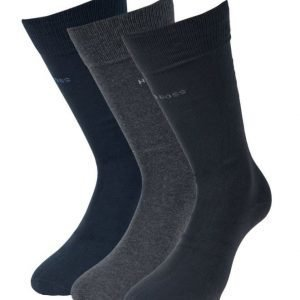Hugo Boss 3-pack cotton socks 962 Blue/grey/Black