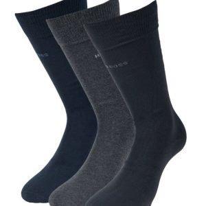 Hugo Boss 3-pack cotton socks 962 Blue/grey/Black