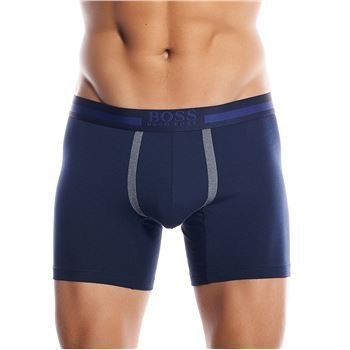 Hugo Boss Cotton+ Cyclist Boxer Navy
