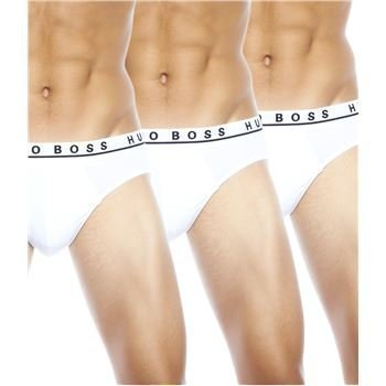 Hugo Boss Cotton Stretch Brief White 3 pakkaus