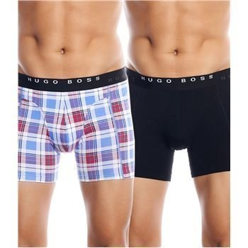 Hugo Boss Cyclist Boxer Blue Square 2 pakkaus
