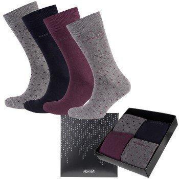 Hugo Boss Giftset Socks 4 pakkaus
