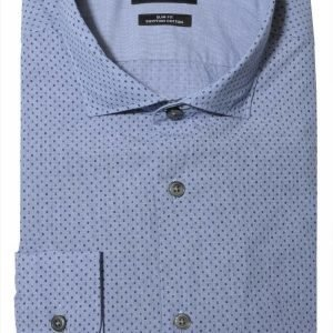 Hugo Boss Ridley Print Slim Fit Kauluspaita