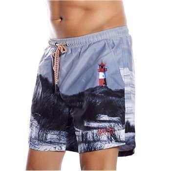 Hugo Boss Springfish Swim Shorts Grey