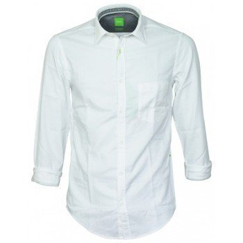 Hugo Boss chemise Baloy blanche kauluspaita