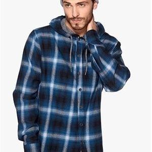 Humör Pinge Hood Shirt Jet Black