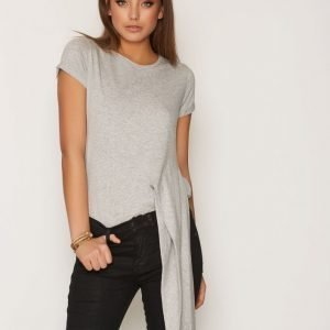 Hunkydory Alvint T-Paita Light Grey Melange