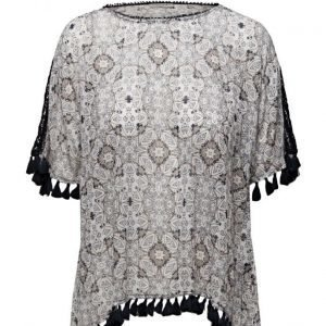 Hunkydory Anderson Printed Blouse lyhythihainen pusero