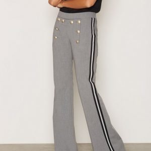 Hunkydory Billie Pant Housut Light Grey Melange