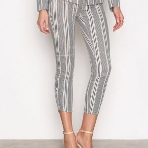 Hunkydory Billy Striped Pant Housut Indigo