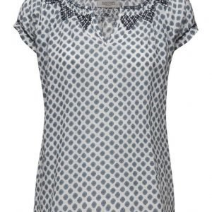 Hunkydory Essentials Costa Dot Top lyhythihainen pusero