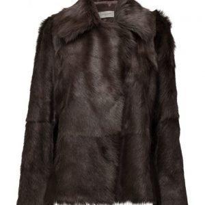 Hunkydory Fur Swing Coat takki