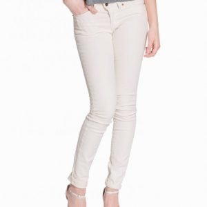 Hunkydory H.D Coated Denim Slim Farkut Chalk