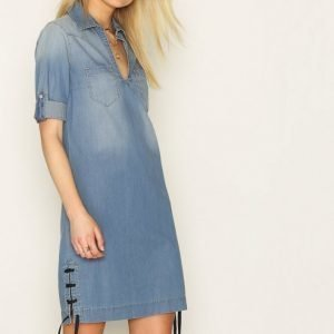 Hunkydory Jessie Dress Loose Fit Mekko Indigo