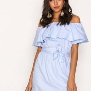 Hunkydory Myra Dress Loose Fit Mekko Soft Blue