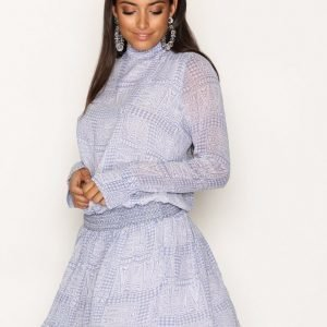 Hunkydory Vera Dress Loose Fit Mekko Blue