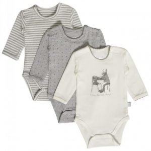 Hust & Claire Body 3 kpl Ivory White