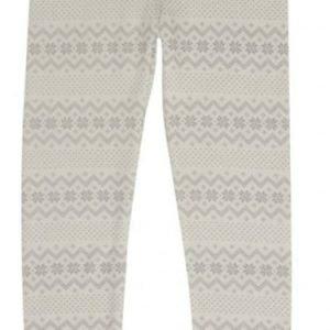 Hust & Claire Leggingsit Villa/Bambu Off White Grey