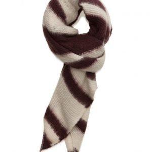 ICHI A Belise Striped Sc huivi