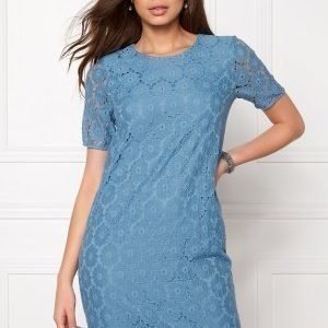 ICHI Bloom Dress Parisian Blue